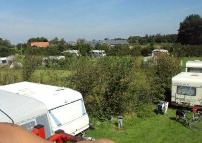 Genieten van uw kampeerplaats op een boerencamping