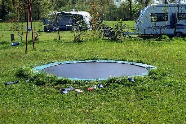 Trampoline speeltuin camping Gelderland